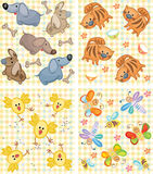 Cute patterns for your design. Stock Photography