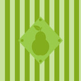 Cute pear background Royalty Free Stock Photo