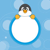 Cute Penguin. Royalty Free Stock Image