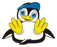Cute penguin boy Royalty Free Stock Photo