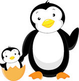 Cute penguin cartoon Royalty Free Stock Images