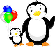 Cute penguin cartoon Royalty Free Stock Image