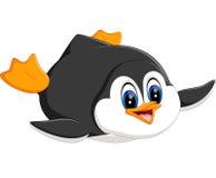 Cute penguin cartoon Stock Photography
