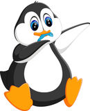 Cute penguin cartoon Royalty Free Stock Image