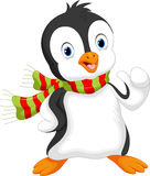 Cute penguin cartoon Stock Photo
