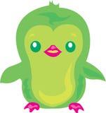 Cute Penguin Green Royalty Free Stock Photo
