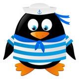 Cute penguin sailor Stock Photo