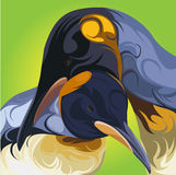 Cute penguin vector Royalty Free Stock Photography
