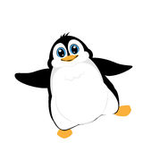 Cute penguin. Vector of illustration Royalty Free Stock Image