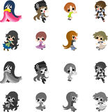 The cute people Stock Image