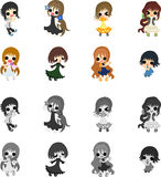 The cute people Stock Images