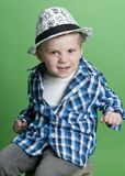 Cute Personality Kid Stock Photography