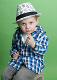 Cute Personality Kid Royalty Free Stock Photos