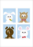Cute pets 1 Royalty Free Stock Images