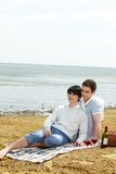 Cute picnickers Stock Photography
