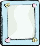 Cute Picture Frame Royalty Free Stock Photos