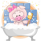 Cute Pig Royalty Free Stock Photo