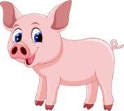 Cute pig cartoon Royalty Free Stock Photography