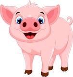 Cute pig cartoon Stock Photo