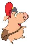 Cute pig farm animal cartoon Royalty Free Stock Photography