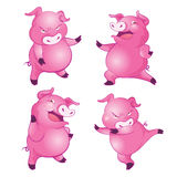 Cute pig a Royalty Free Stock Images