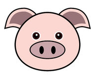 Cute Pig Vector Stock Image
