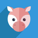 Cute pig Royalty Free Stock Photography