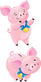 Cute Piggy-bank Stock Photos