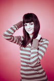 Cute in pink. royalty free stock photo