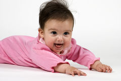 Cute in Pink Royalty Free Stock Photography