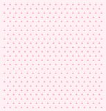 Cute pink cherry pattern. royalty free stock photography
