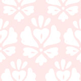Cute pink elegant background. Vector hand drawn seamless pattern Stock Photo