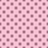 Cute pink floral seamless pattern Royalty Free Stock Images