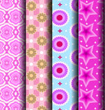 Cute pink pattern royalty free illustration