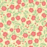 Cute pink roses Stock Image