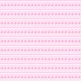 Cute pink seamless pattern. Endless texture Stock Images