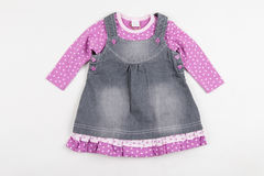 Cute pink skirt for girl. Stock Images