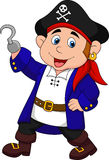 Cute pirate kid cartoon Royalty Free Stock Photo