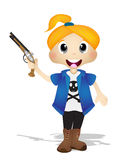 Cute Pirates Royalty Free Stock Images