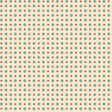 Cute pixelated pattern with simple geometric shapes Royalty Free Stock Photos