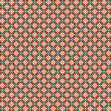 Cute pixelated pattern with simple geometric shapes Royalty Free Stock Image