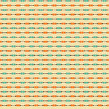 Cute pixelated pattern with simple geometric shapes Stock Photos