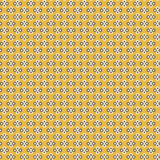 Cute pixelated pattern with simple geometric shapes Stock Photo