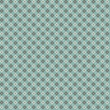 Cute pixelated pattern with simple geometric shapes Stock Image