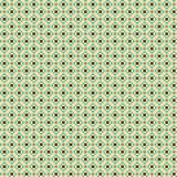 Cute pixelated pattern with simple geometric shapes. Useful for textile and interior design Stock Images