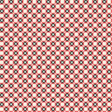 Cute pixelated pattern with simple geometric shapes Royalty Free Stock Photography