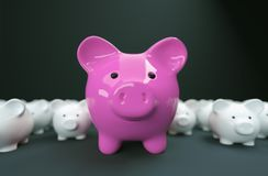 Piggy Bank save money investment royalty free stock photo