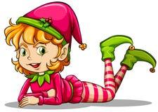 A cute playful elf Stock Photos