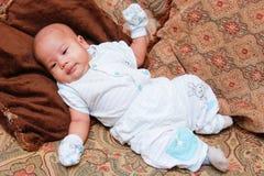 Cute plump Asian baby girl Stock Photography