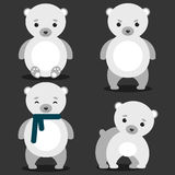 Cute Polar Bear Royalty Free Stock Image